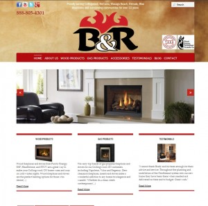 B&R Heating Website
